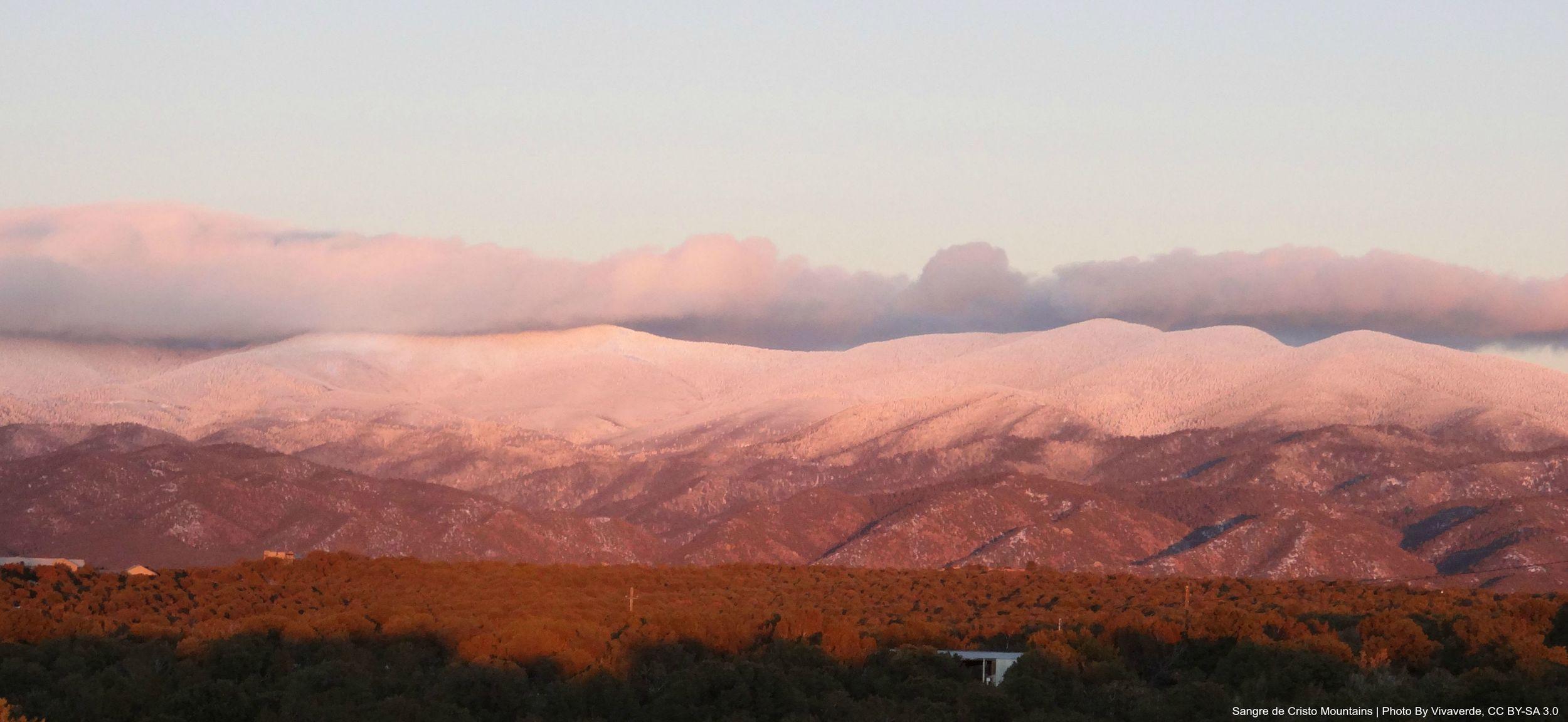 Sangre De Cristo Mountains   Photo By Vivaverde, CC By-SA 3.0