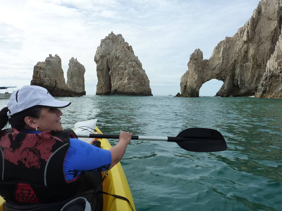 Rep. Chavez-houck kayaking