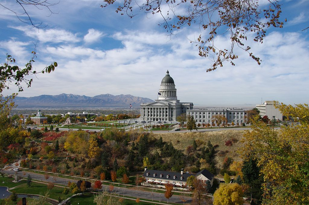 Utah State Capitol where Rep. Chavez-Houck works. Photo: Scott Catron  CC BY-SA 2.0