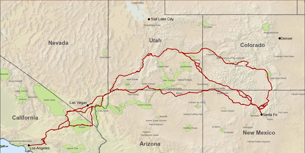 Old Spanish National Historic Trail, Courtesy of NPS