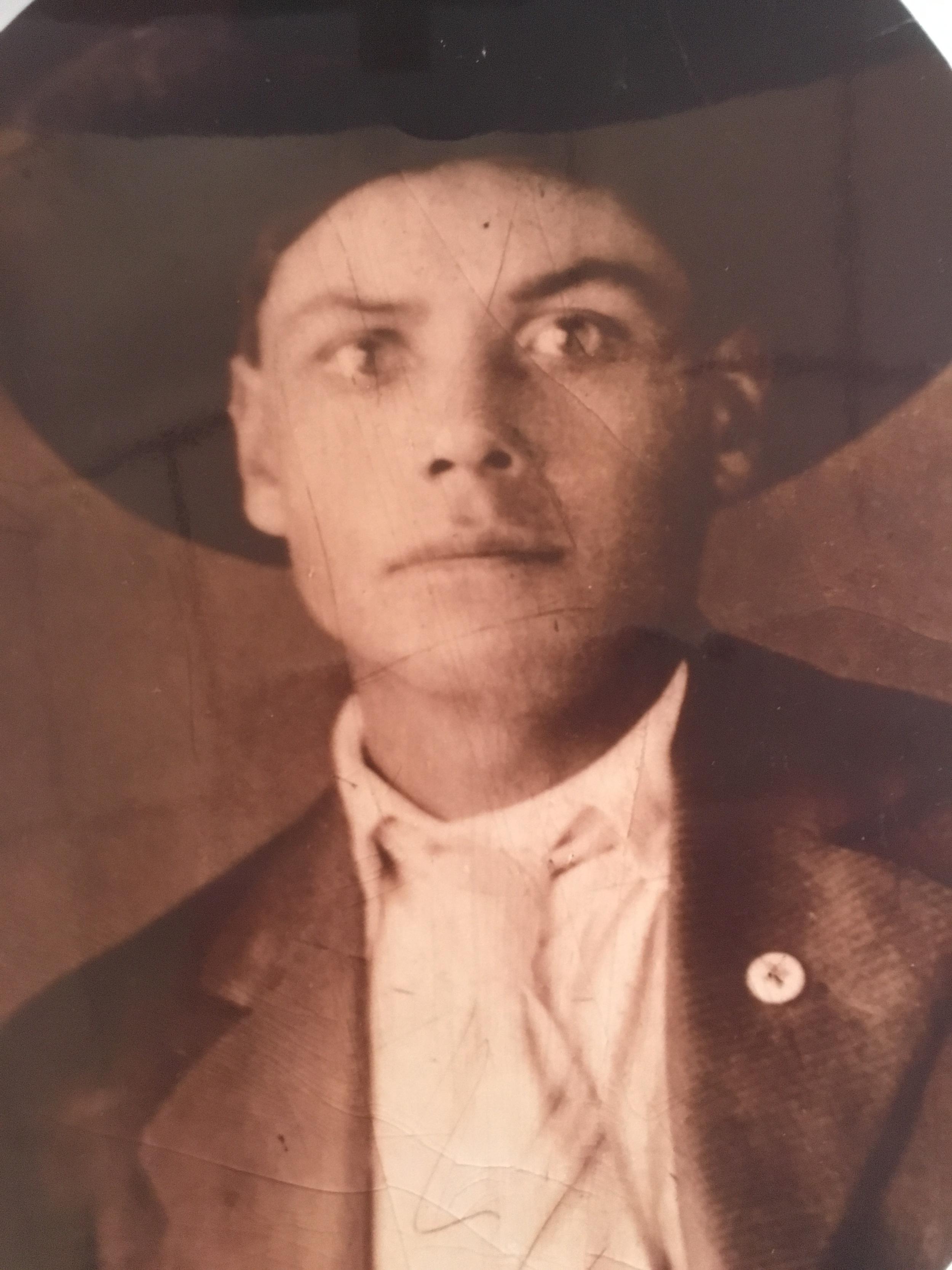 Jerry Otero's Grandpa Maxmilliano in 1918