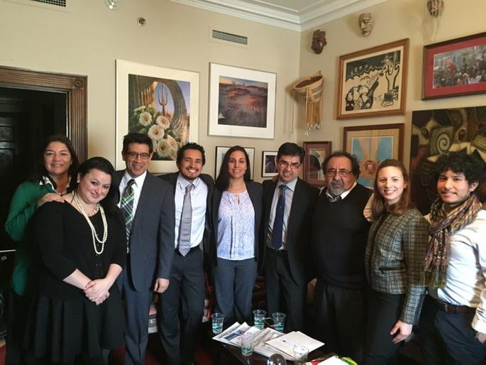 HECHO and Latino Conservation Alliance meeting with U.S. Congressman Grijalva