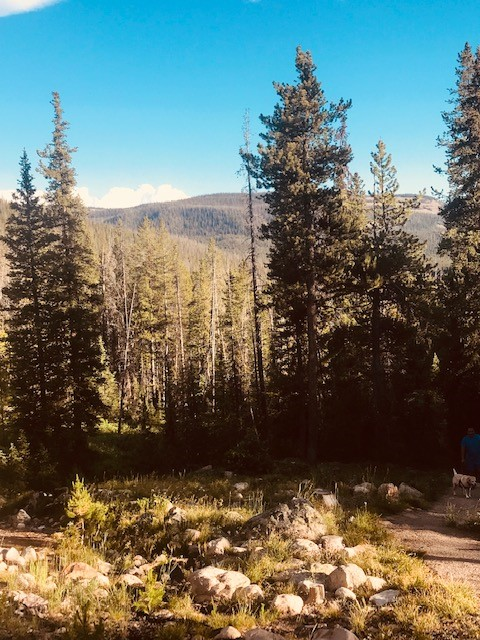 a view of the uintas