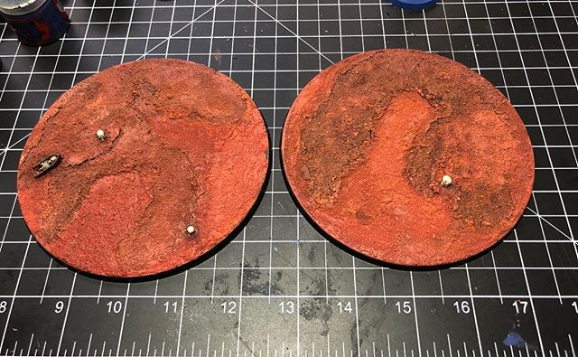 Dune crawler #1 and #3 bases ready for mounting