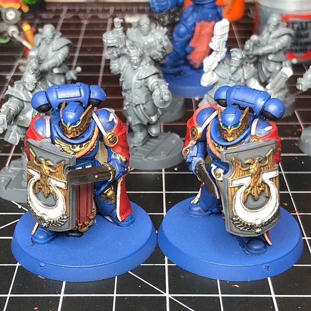 Slow progress on the guard...
