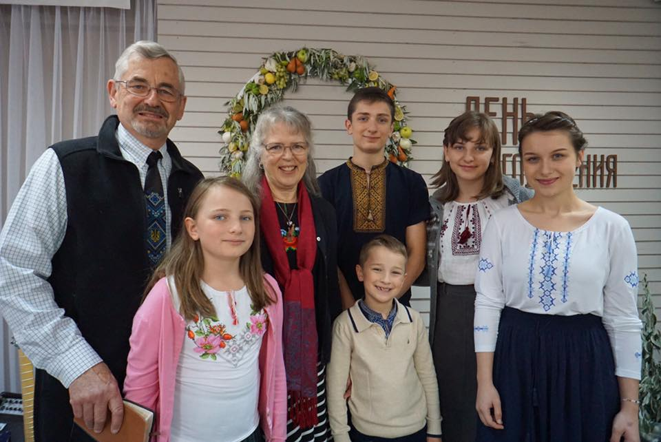 Enjoying seeing out other Ukrainian grandkids again in Odessa.