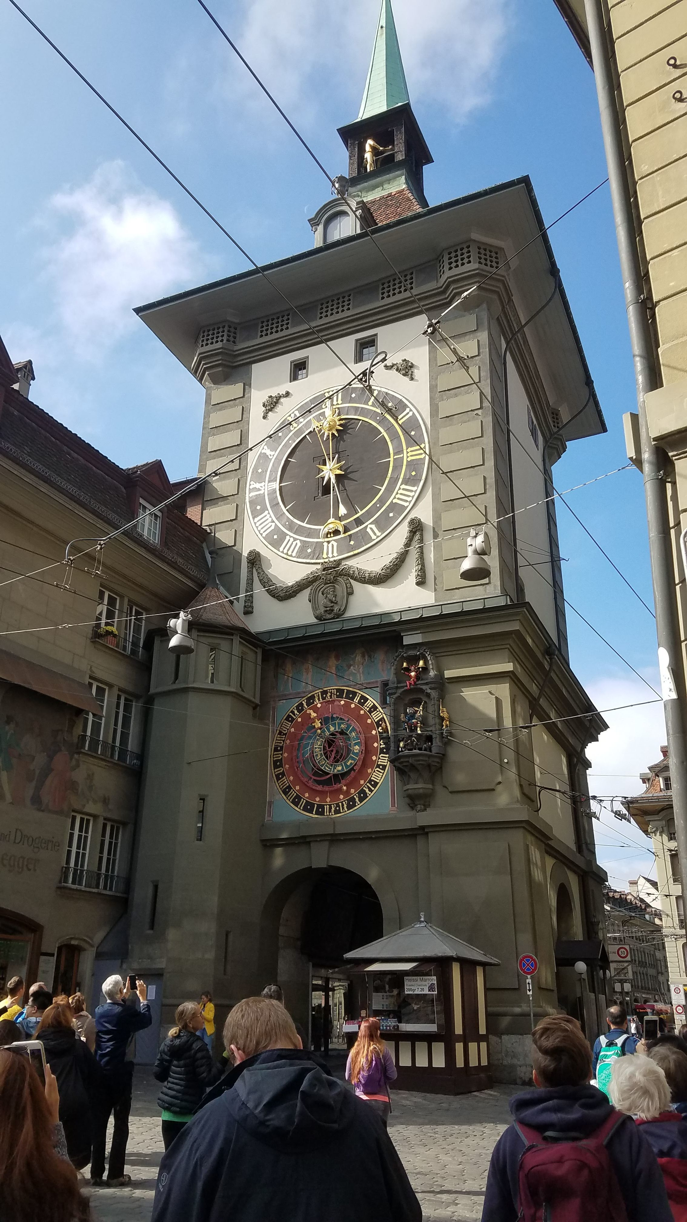 The Zytglogge clock tower in Bern is a major tourist attraction and a UNESCO World Heritage Site.