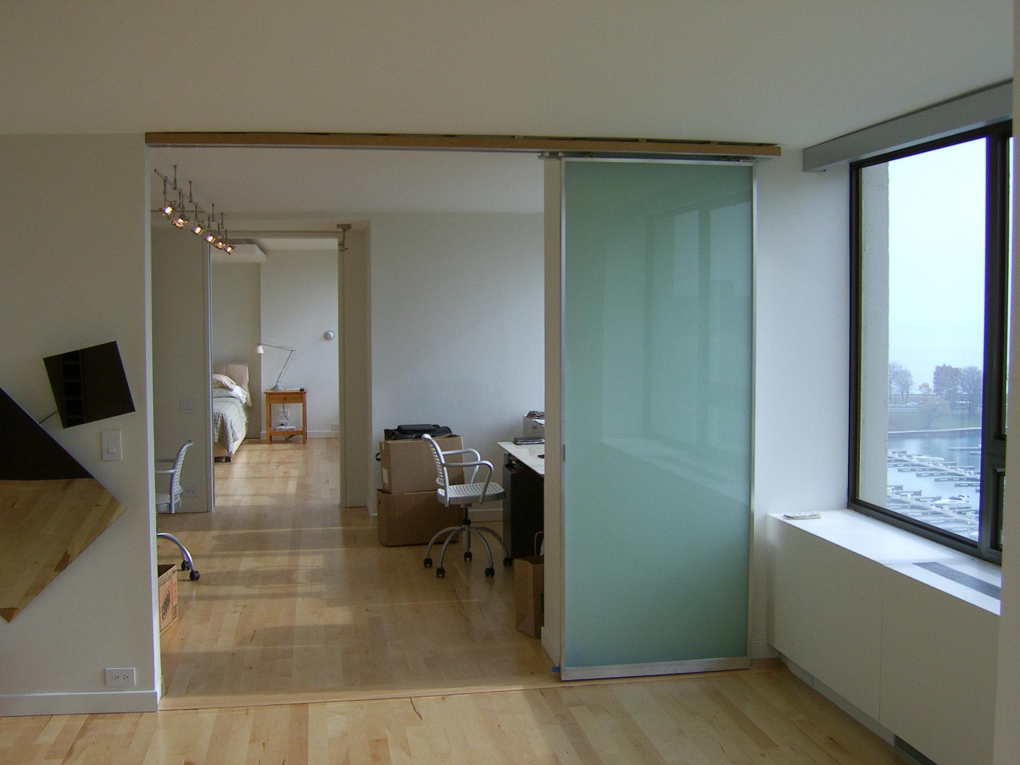 Lake_Shore_Drive_Residence_Interior_Office_Glass_Barn_Door.JPG
