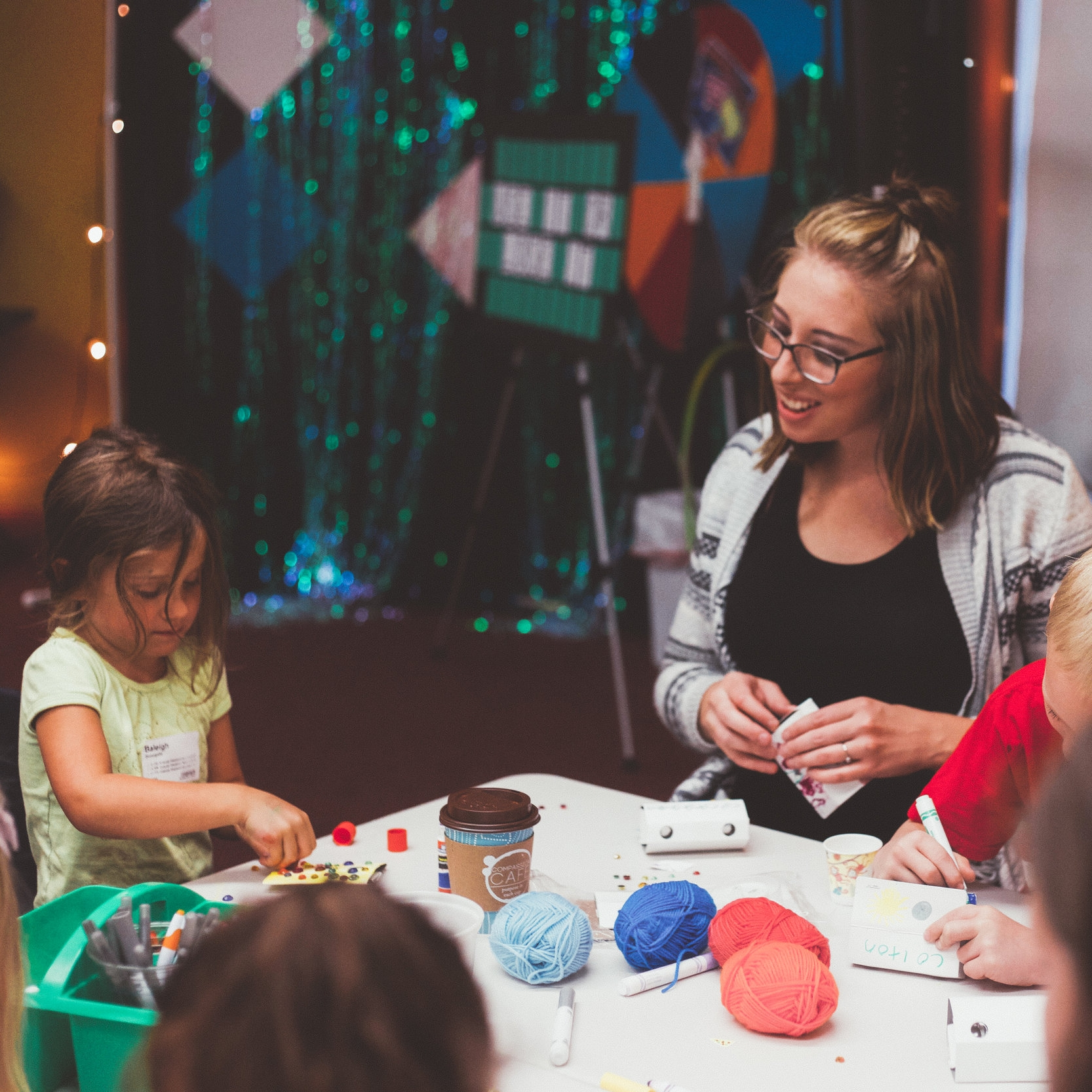 NEXT GEN:  If you're passionate about kids and youth learning and growing in their faith, you can have a direct impact on encouraging the next generation to connect with God by joining a NextGen serve team. Roles range from behind-the-scenes to interacting directly with kids and teens.