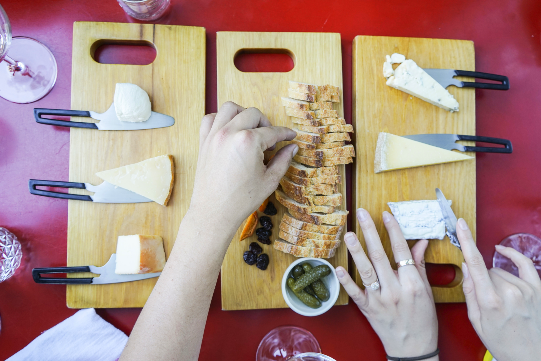 Misson Cheese Board San Francisco California