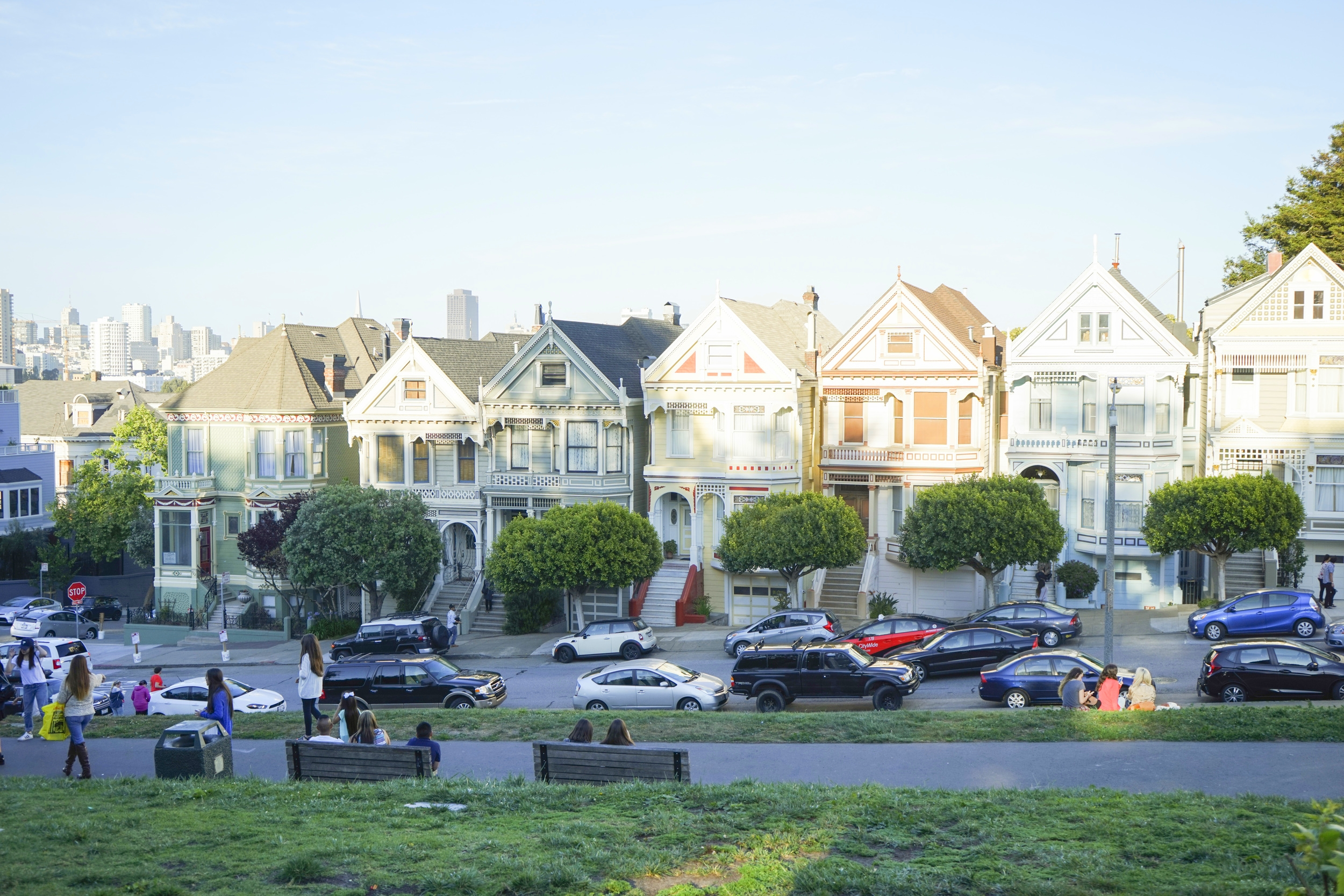 Full House Painted Ladies San Francisco