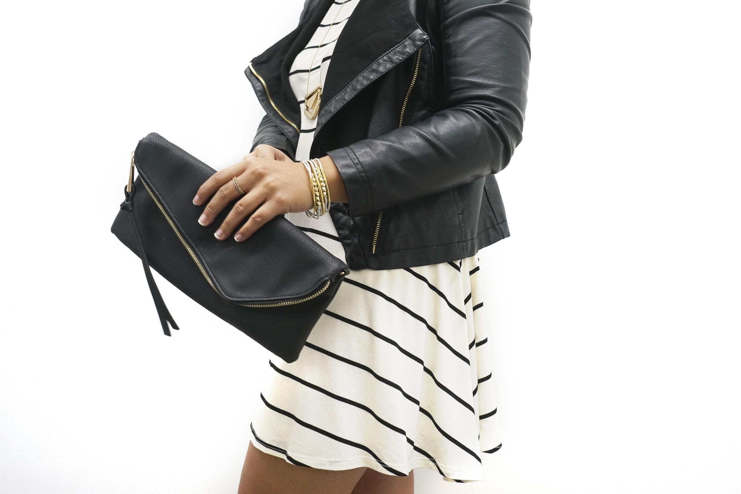 DIY Multi-Strand Leather Bracelet