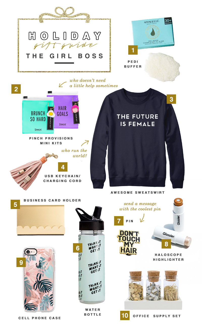 Holiday Gift Guide 2016 - The Girl Boss