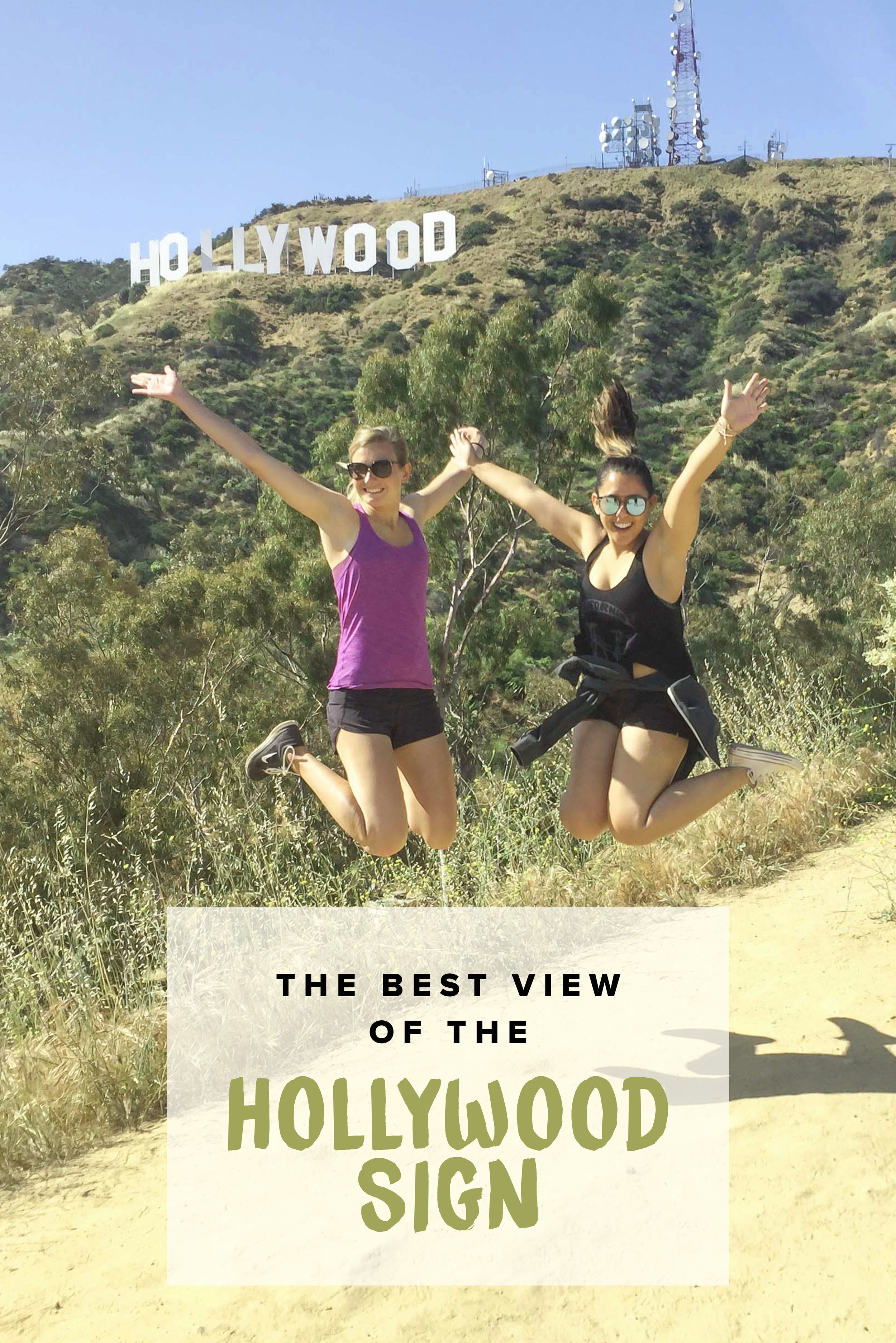 The Best View of the Hollywood Sign | Los Angeles, California, USA | Hollywood | Hike to the Hollywood Sign