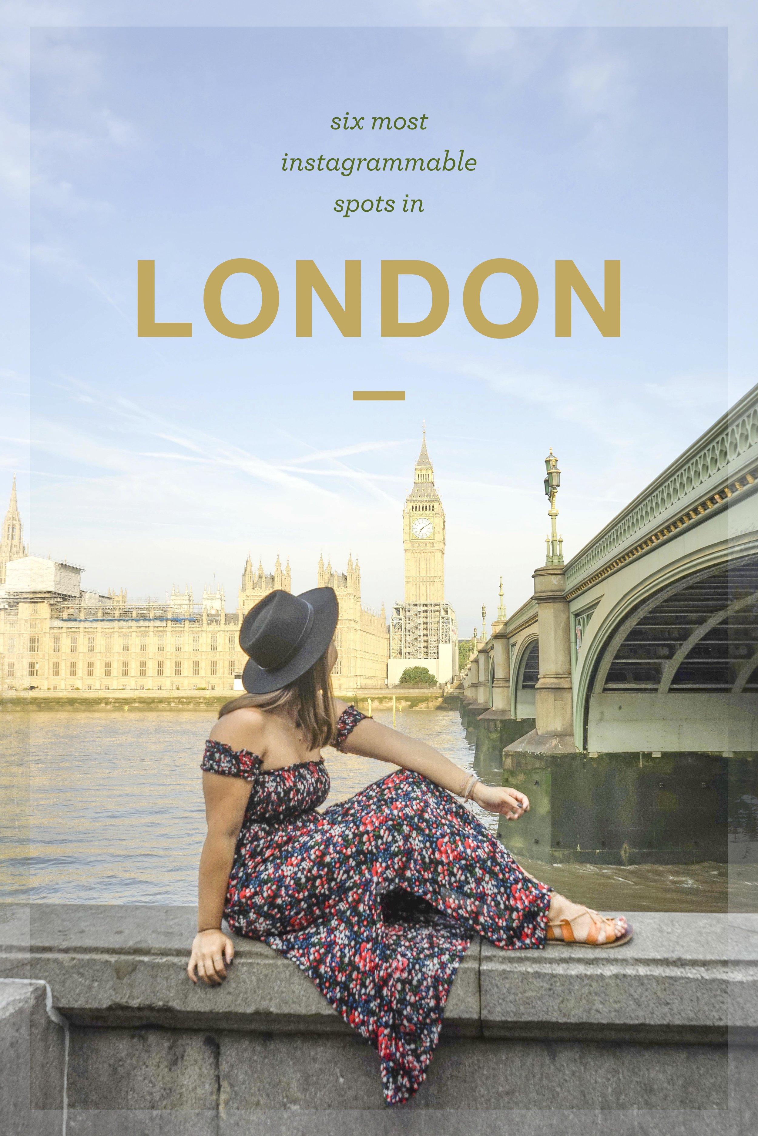 6 most instagrammable spots in London