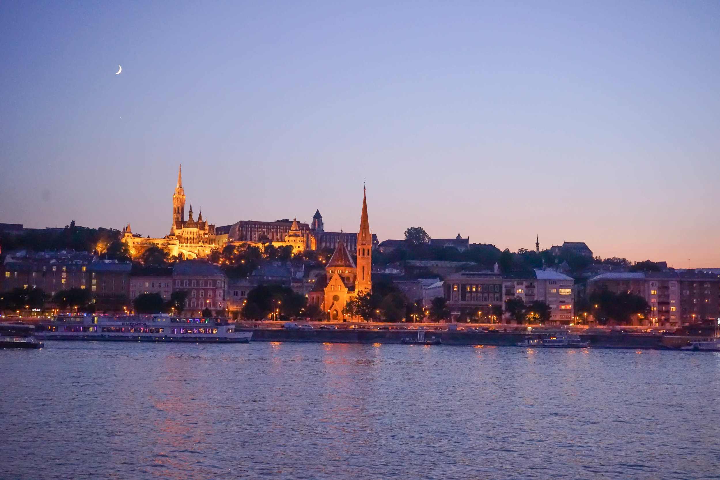 Sunset at the Danube | Top 7 Things to do in Budapest