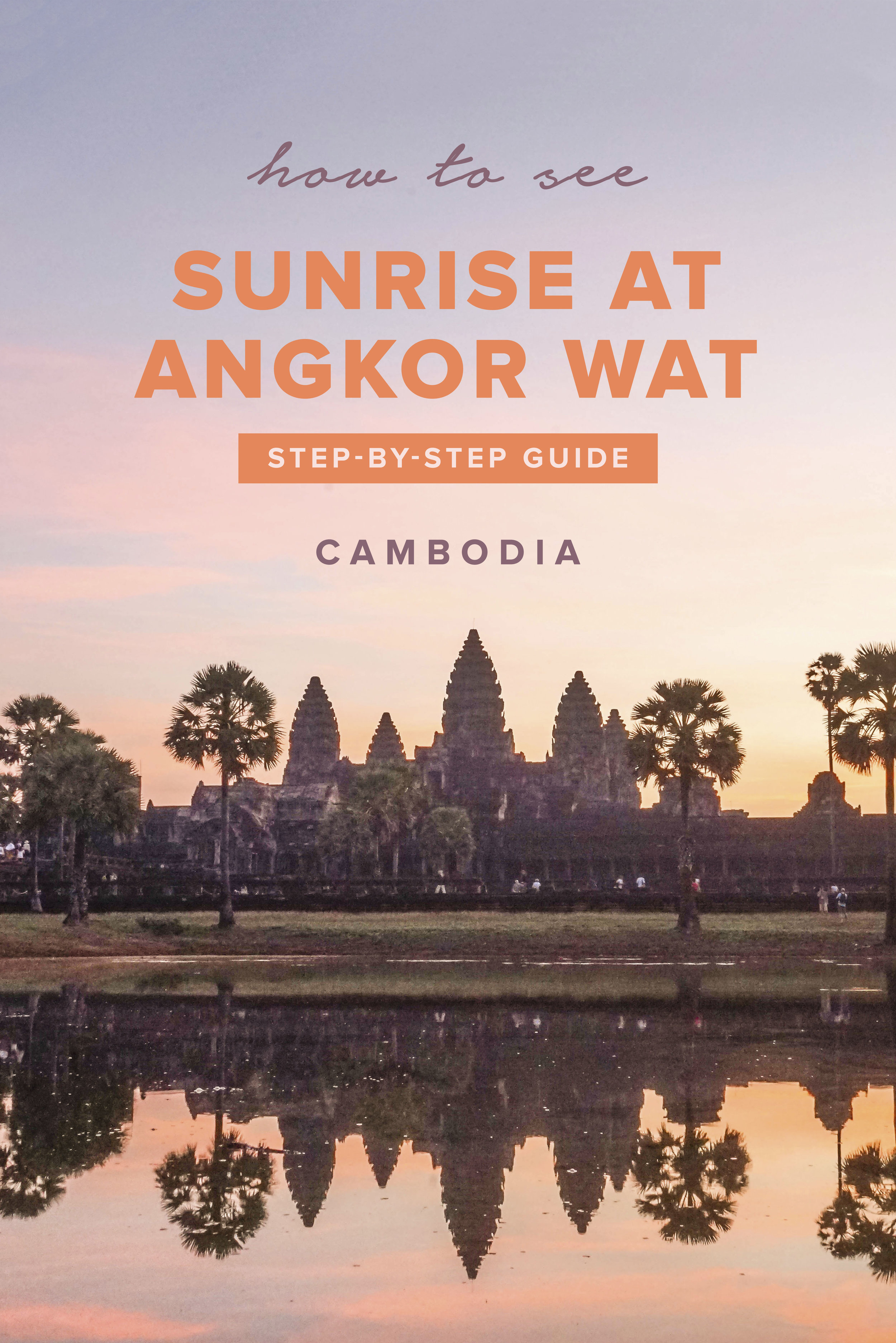 Sunrise at Angkor Wat | Cambodia