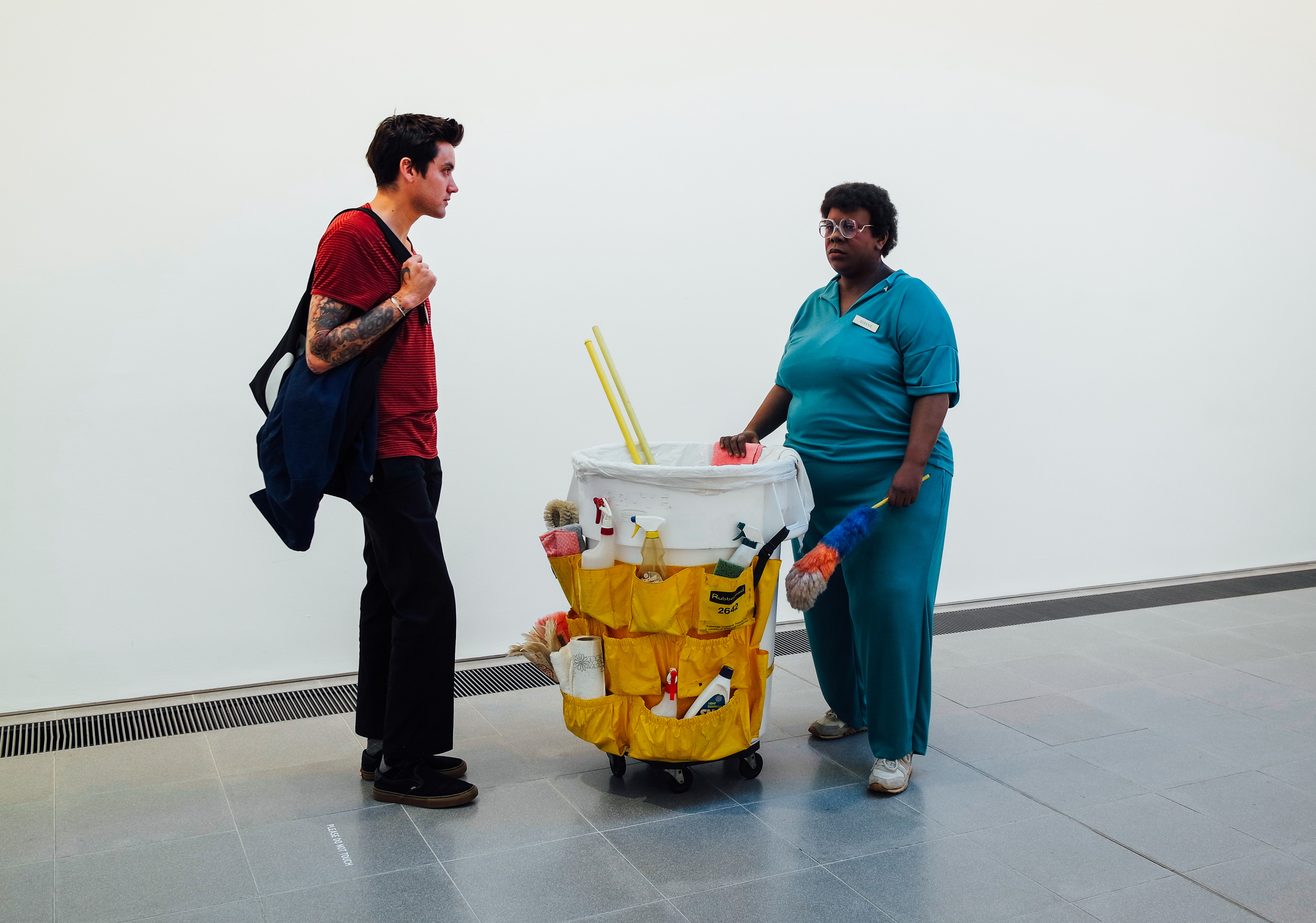 Dean and Queen - Duane Hanson show at The Serpentine