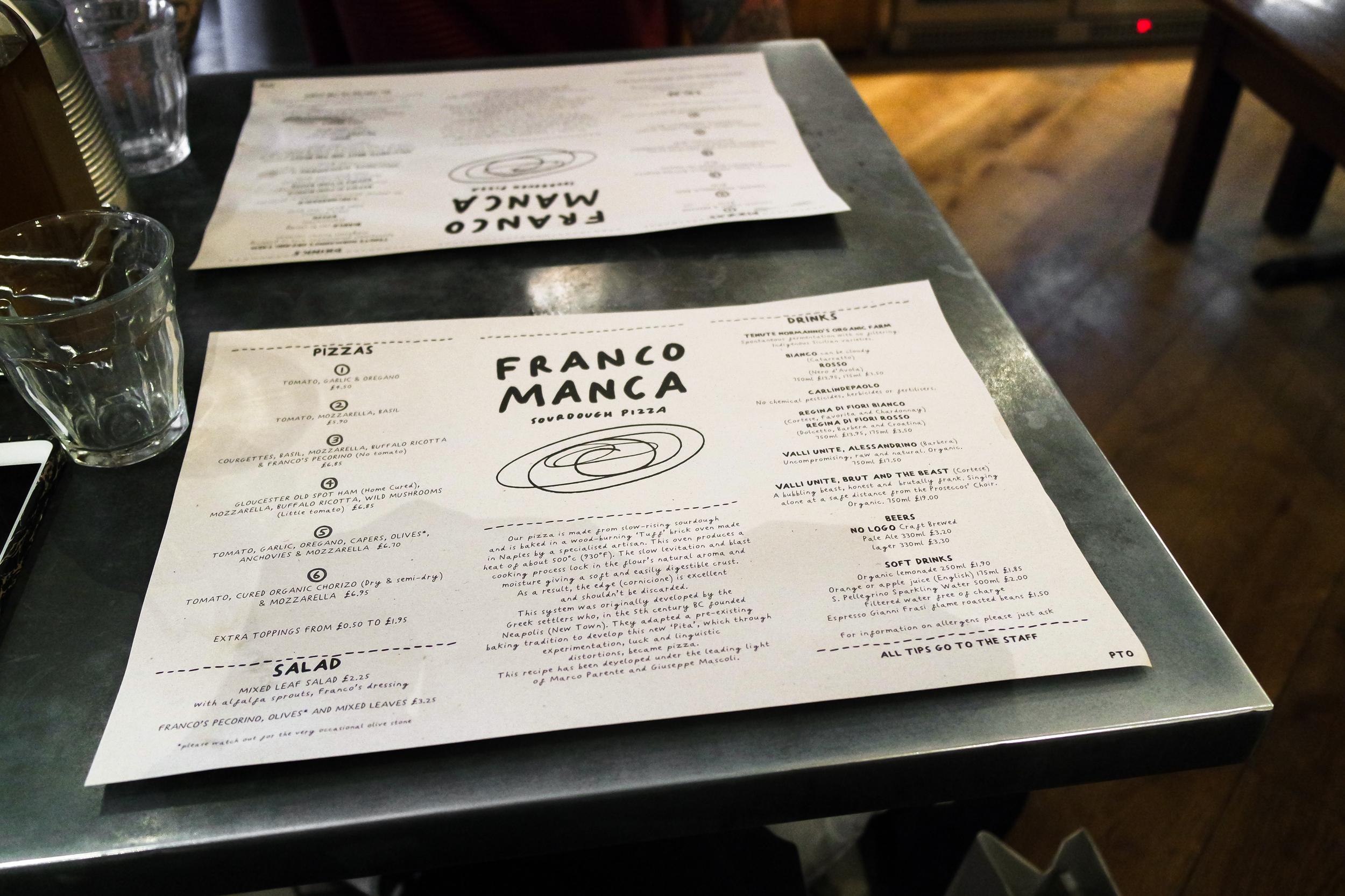 First taste of Franco Manca