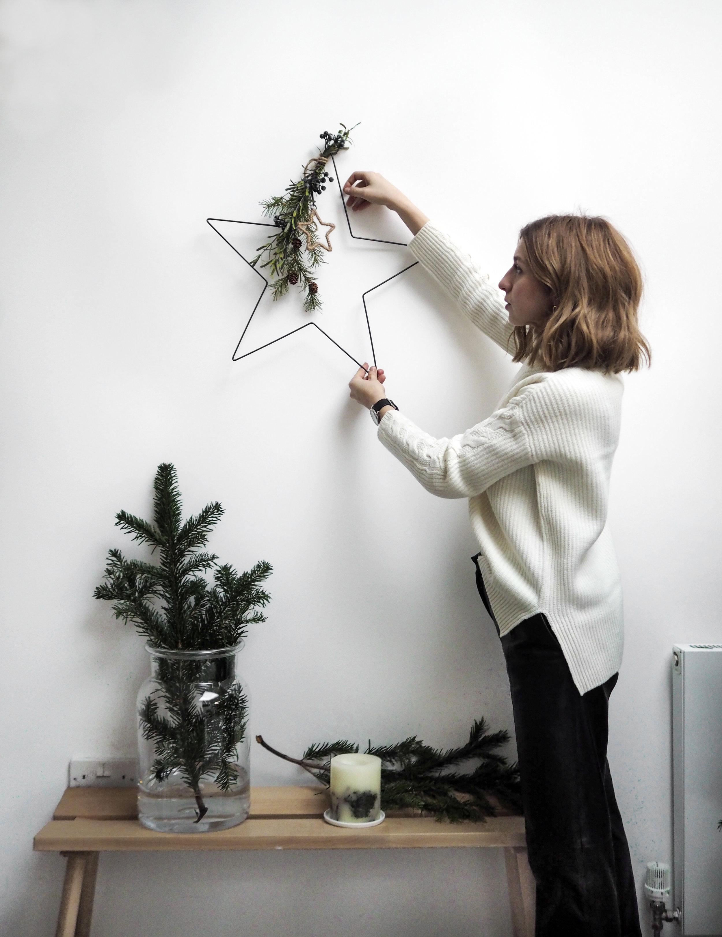 Aurelie Vase  /  Fir Tree Botanical Candle  /  Candle Plate