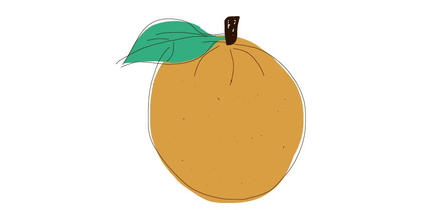 I have an orange-dupd