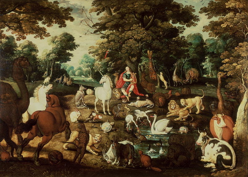 Jacob Bouttats,  Orpheus Charming the Animals