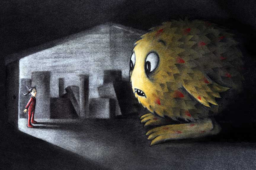 But What if It's a Monster?: The Attic