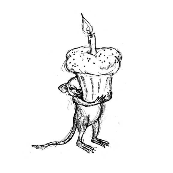 Birthday Rat