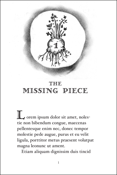 Copy of Chapter One: The Missing Piece
