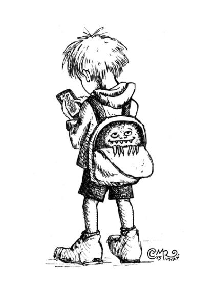 Backpack Monster