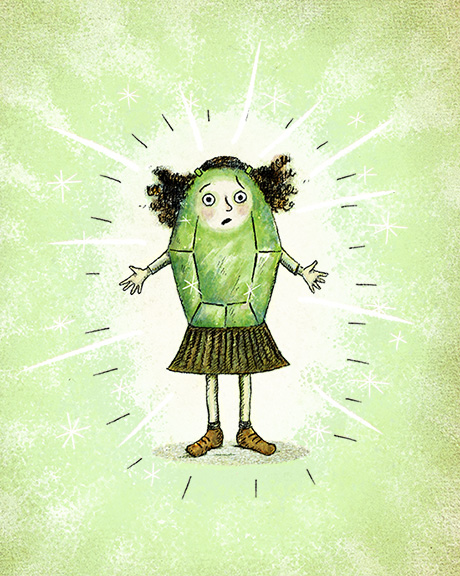 Glowed Green