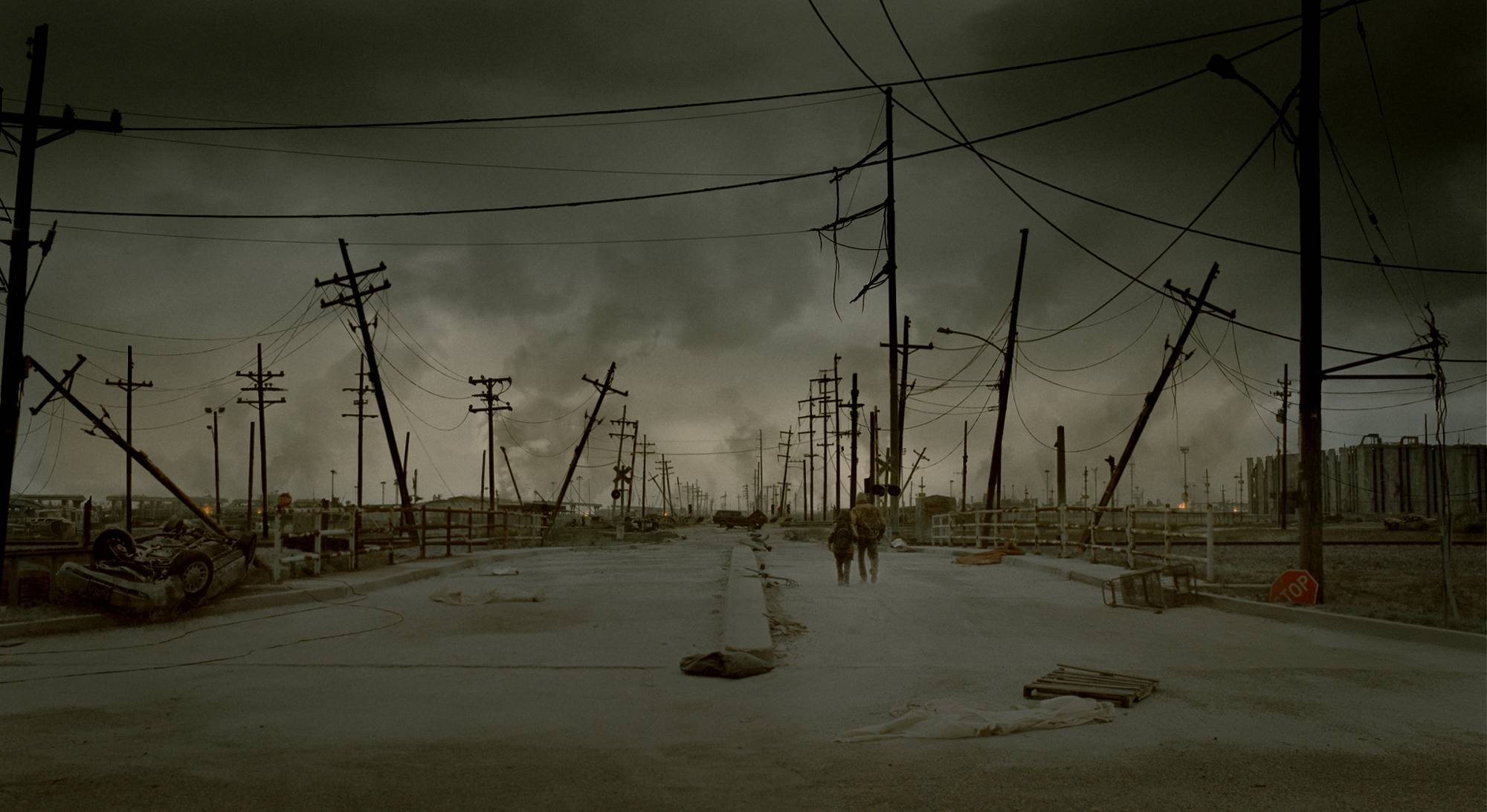 2929 Productions / via  stuffpoint.com  - Pictured here is a still from John Hillcoat's 2009 adaptation of Cormac McCarthy's  The Road .