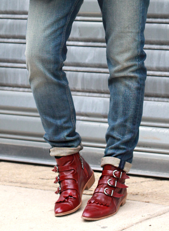 Rag and Bone Dre Jeans, Modern Vice Boots