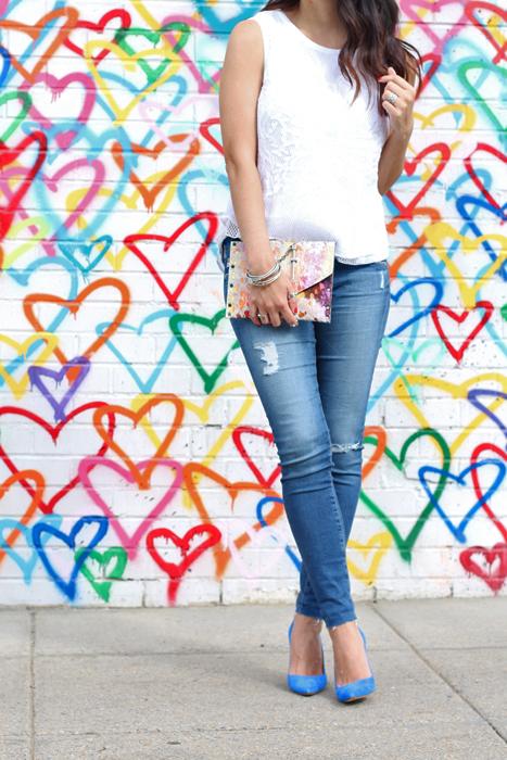 Heart Mural Wall