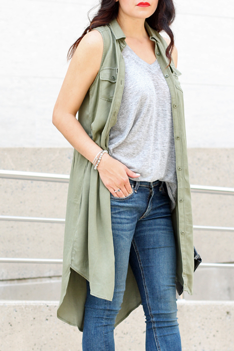 Summer Vest Outfit