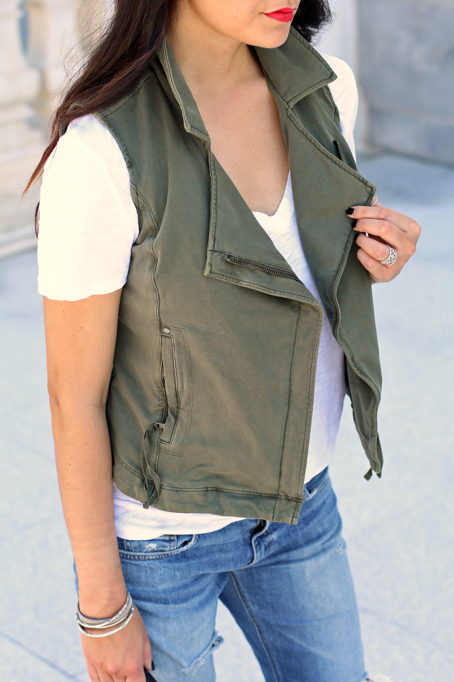 Anthropologie Moto Vest