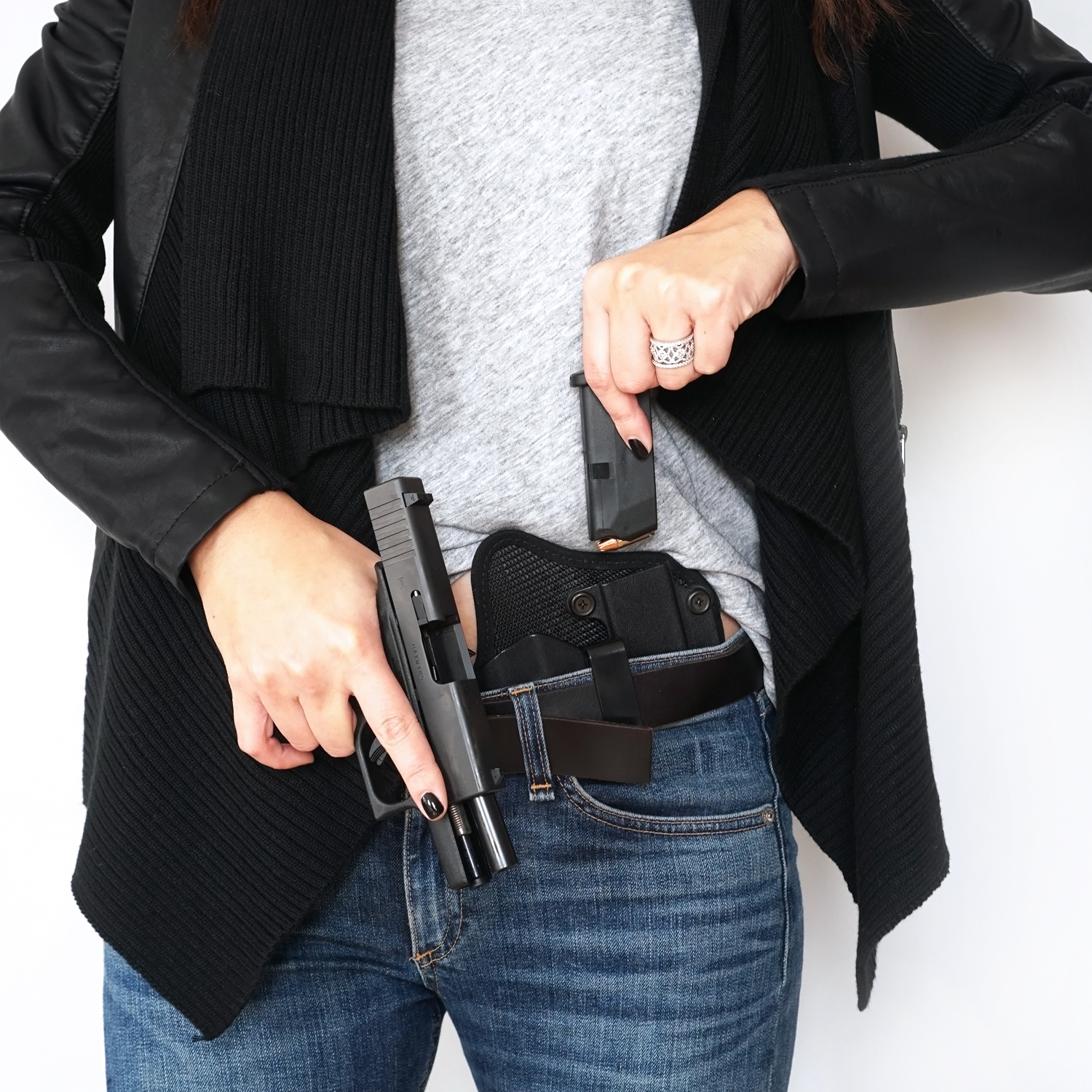 Glock 43 Spare Mag Concealed Carry