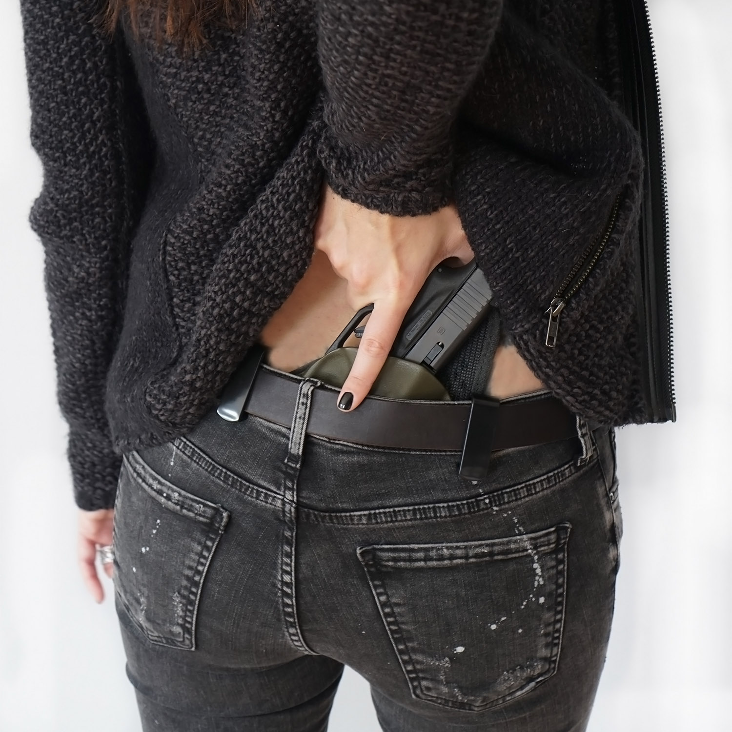 Women's Concealed Carry Outfit Idea