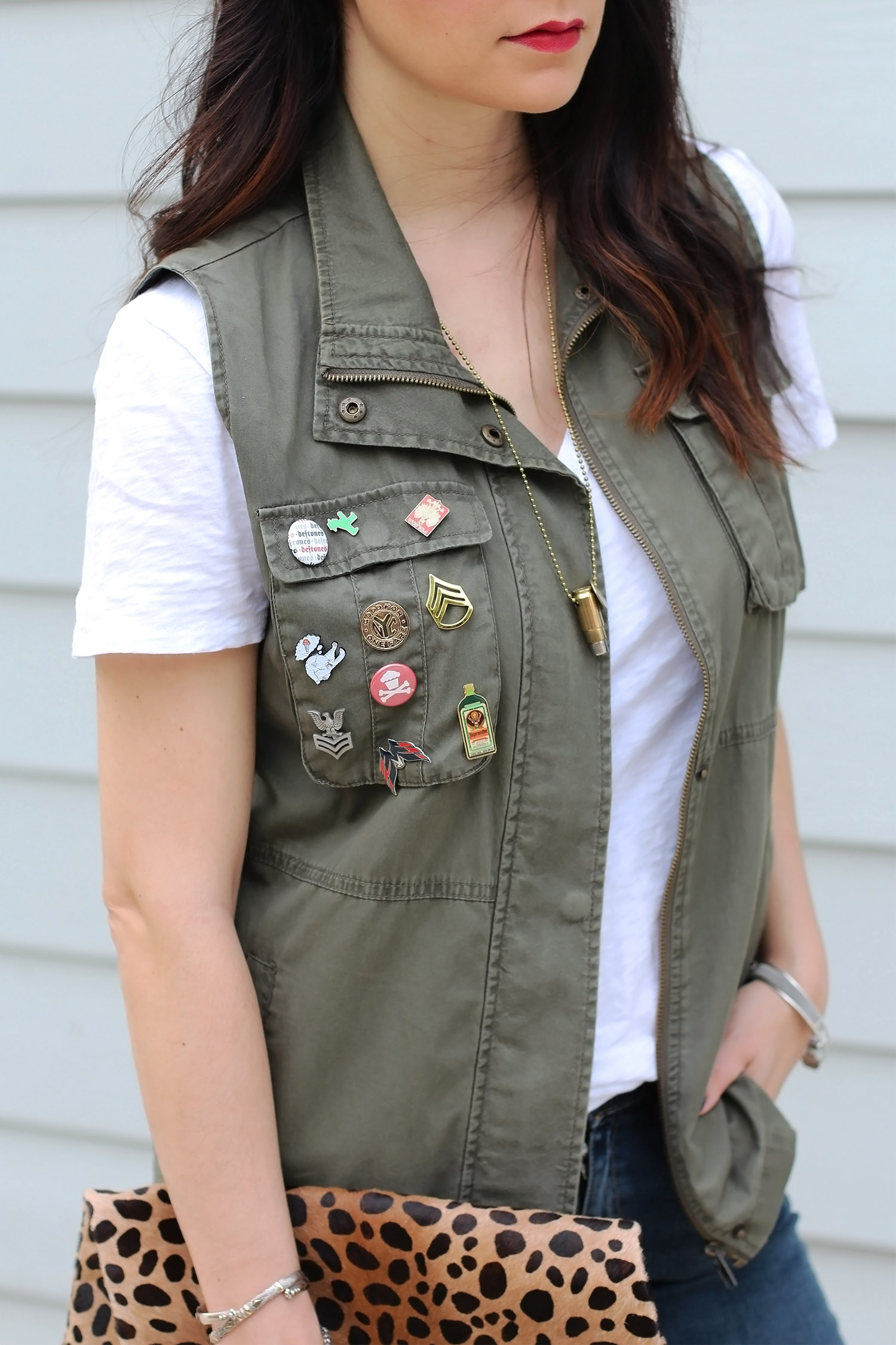 Utility Military Vest Outfit