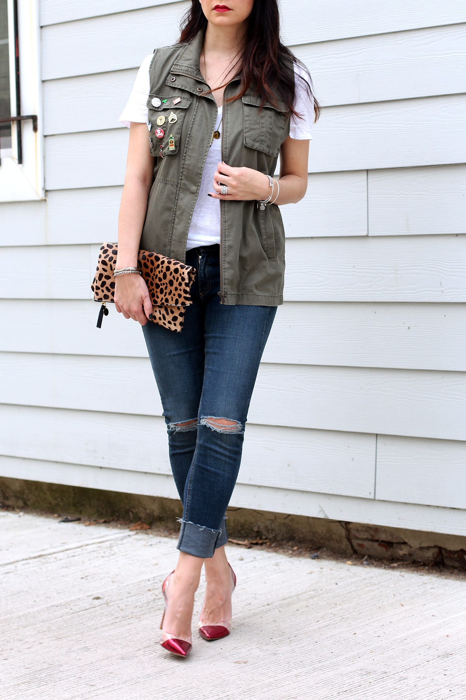 How to Style a Utility Vest