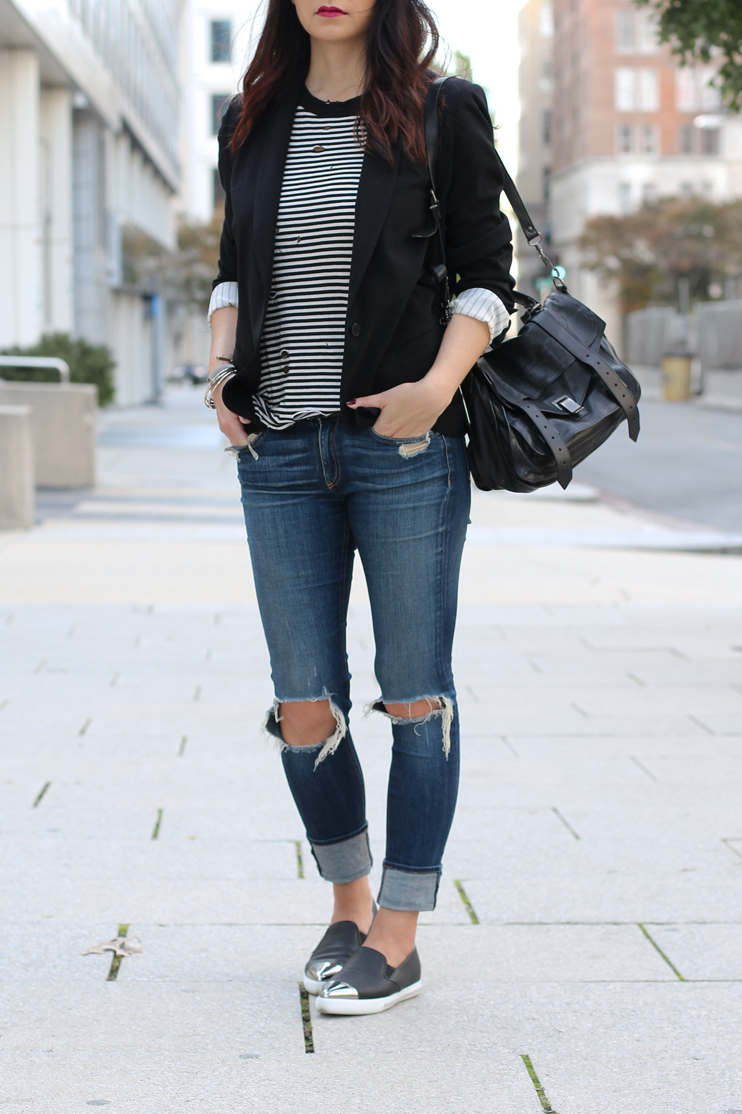 n:Philanthropy Shirt, Rag and Bone Jeans