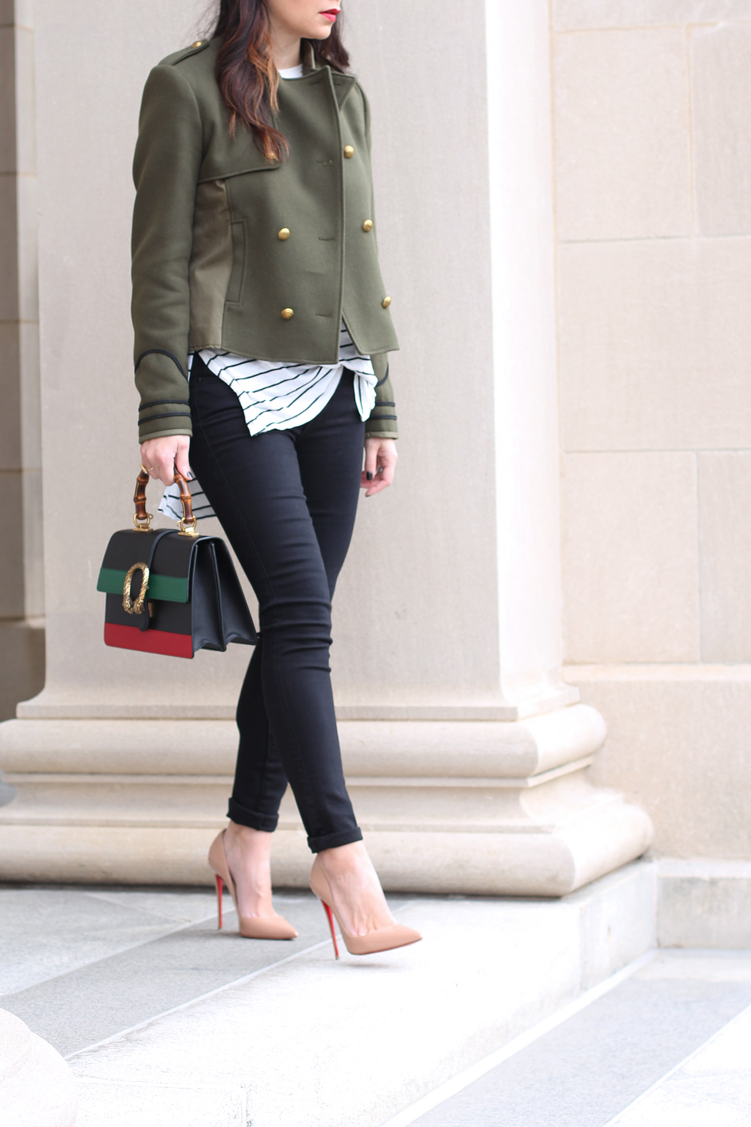 Gucci Dionysus Bag, Christian Louboutin So Kate Pumps