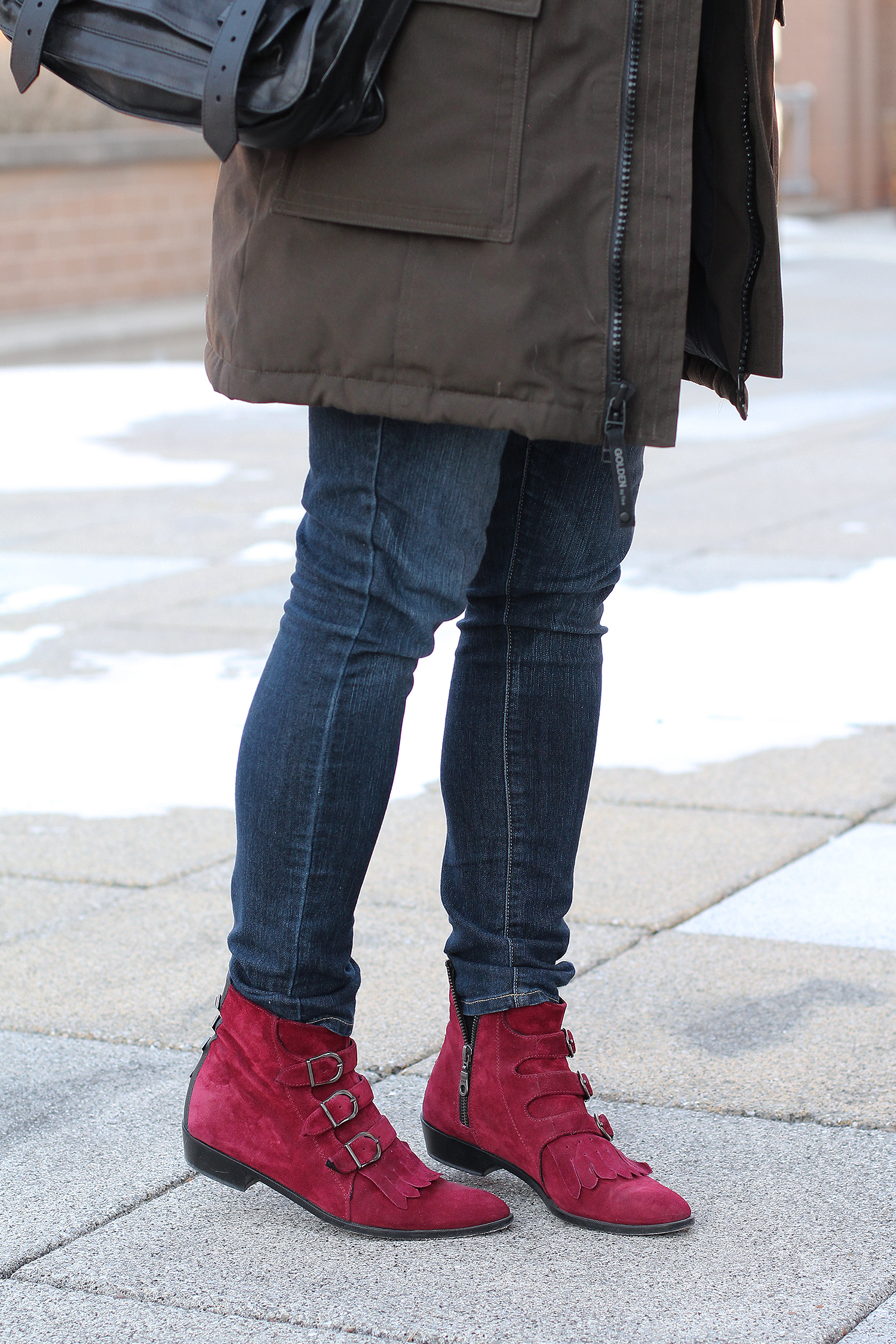 Modern Vice Boots, Paige Denim Jeans