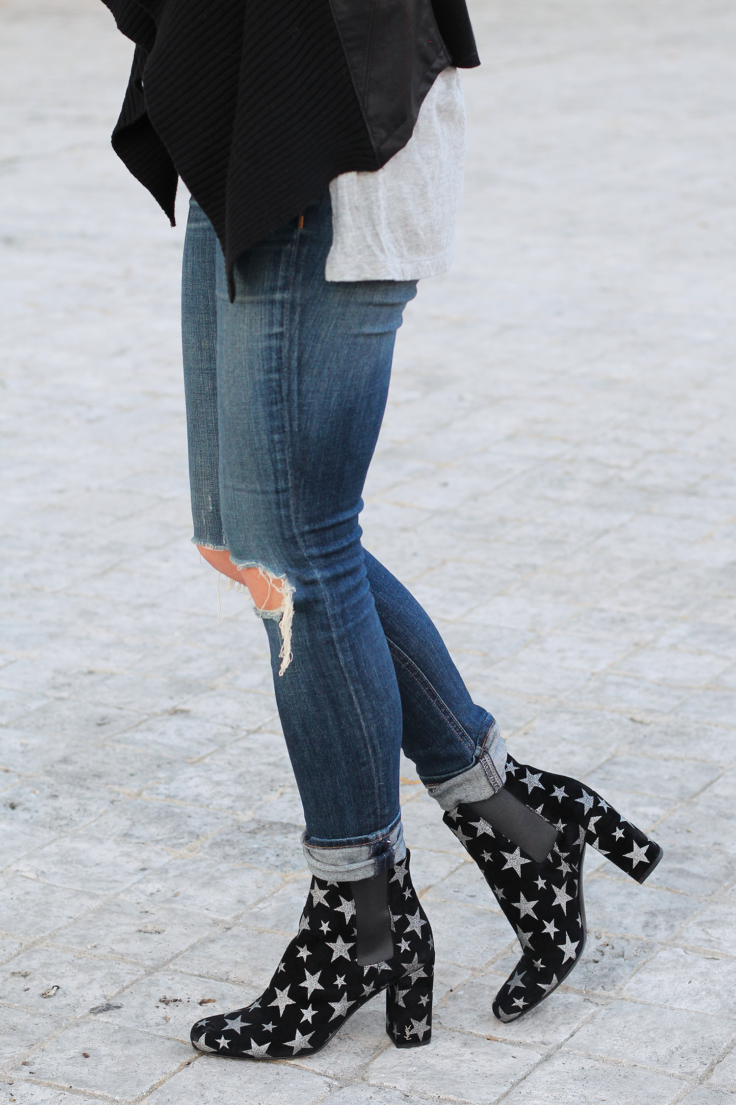 Velvet Star Boots, Rag and Bone Jeans