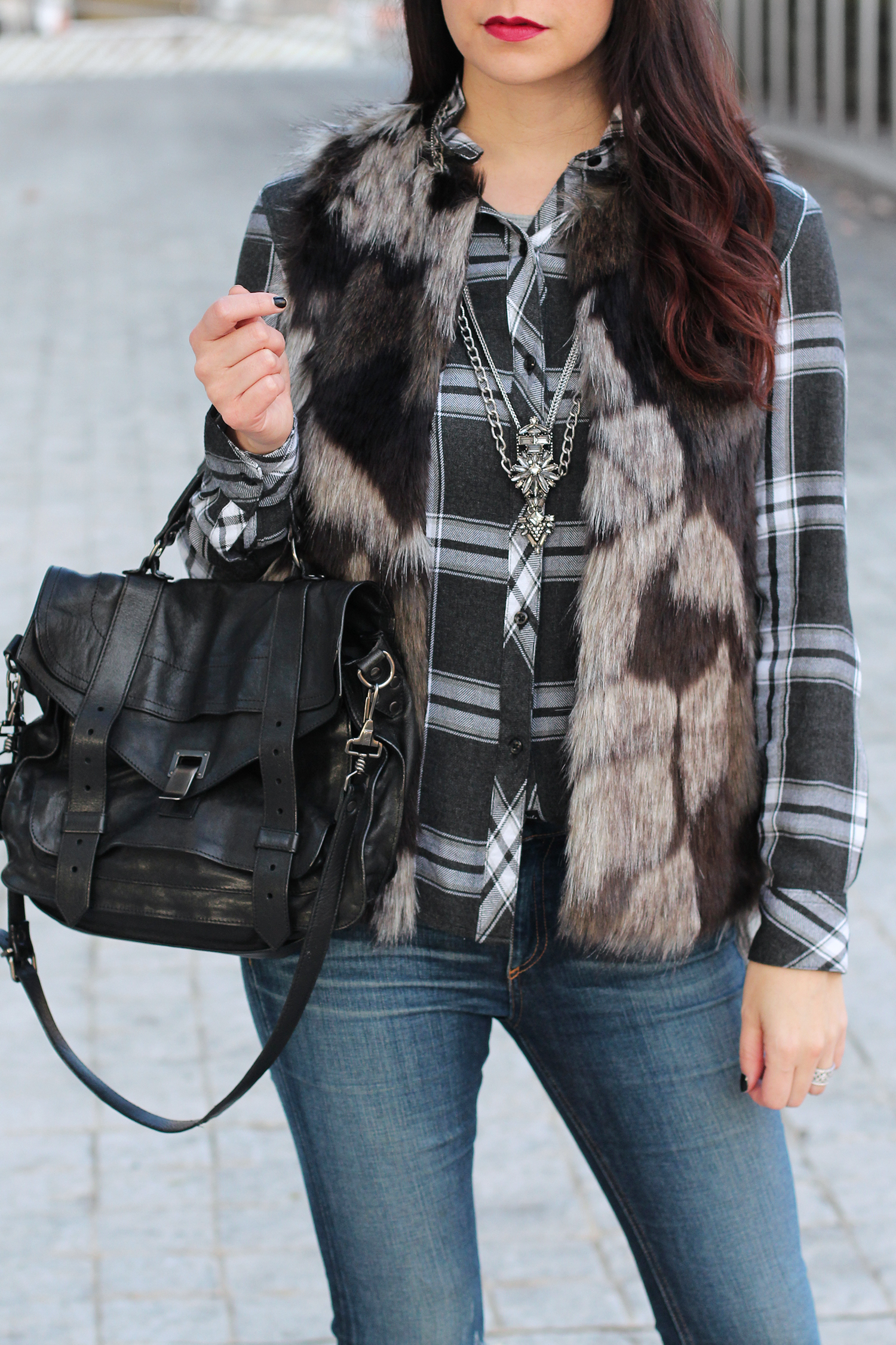Tips for Styling a Fur Vest