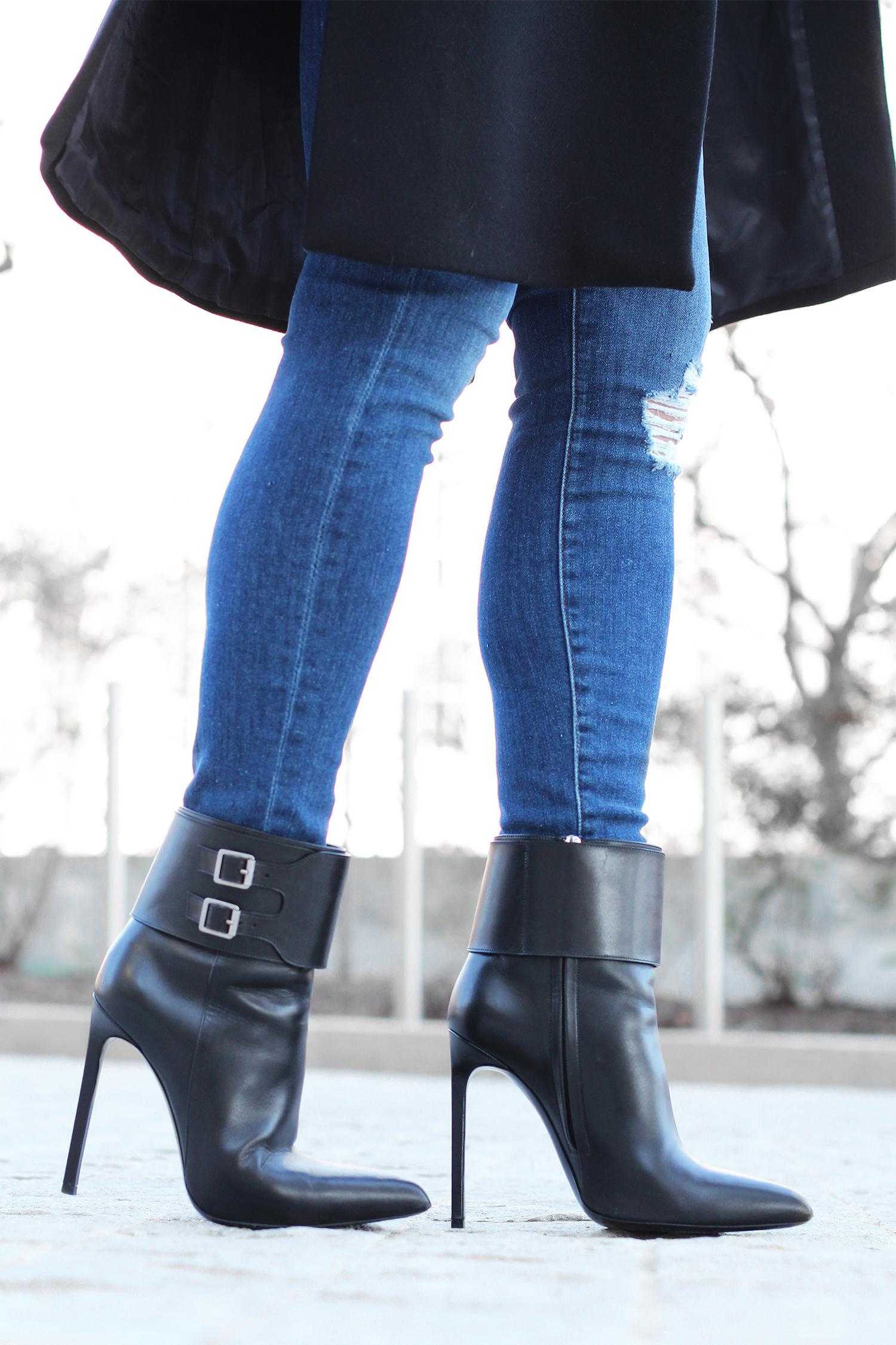 YSL High Heel Boots