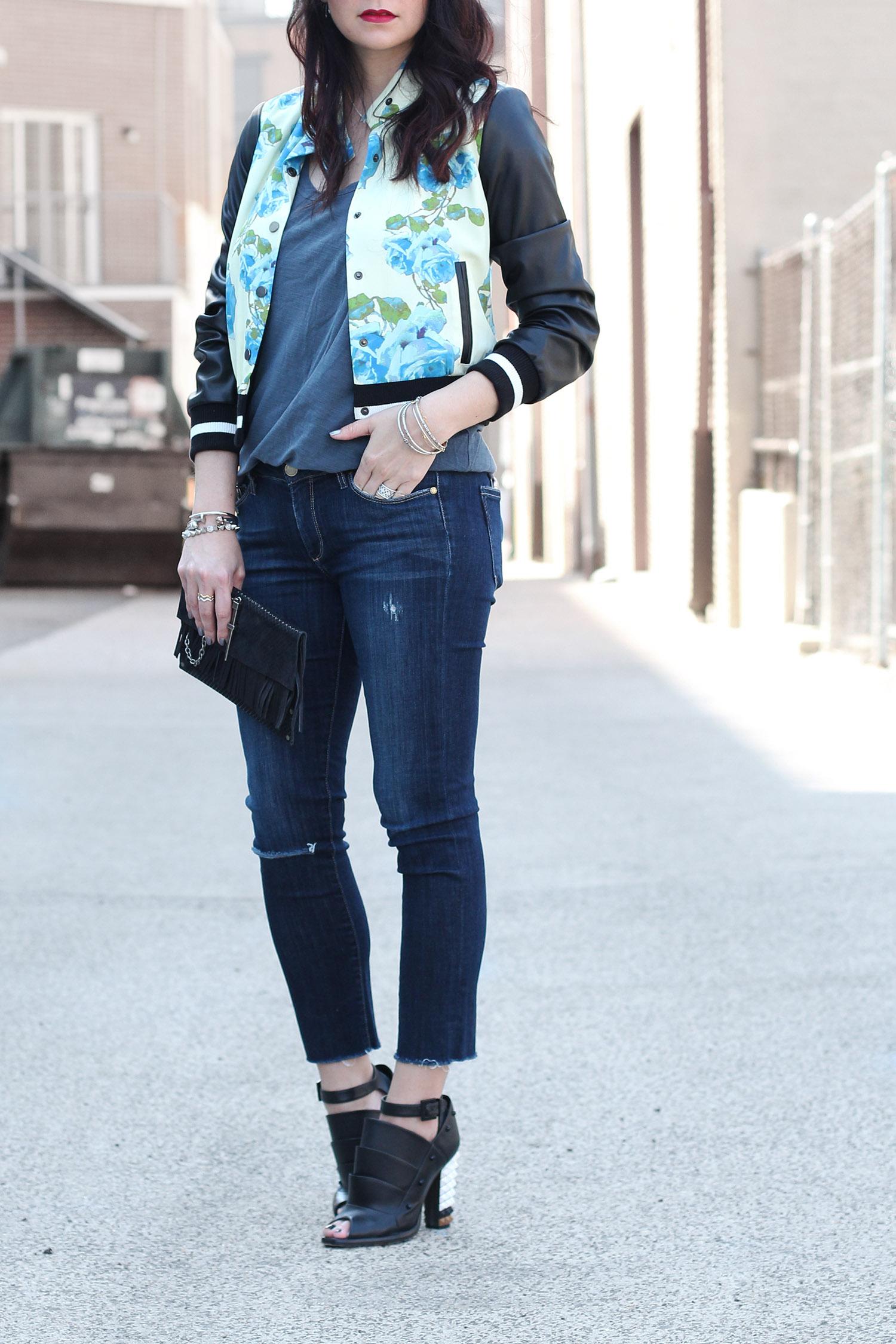 Cute Style Bomber Jacket