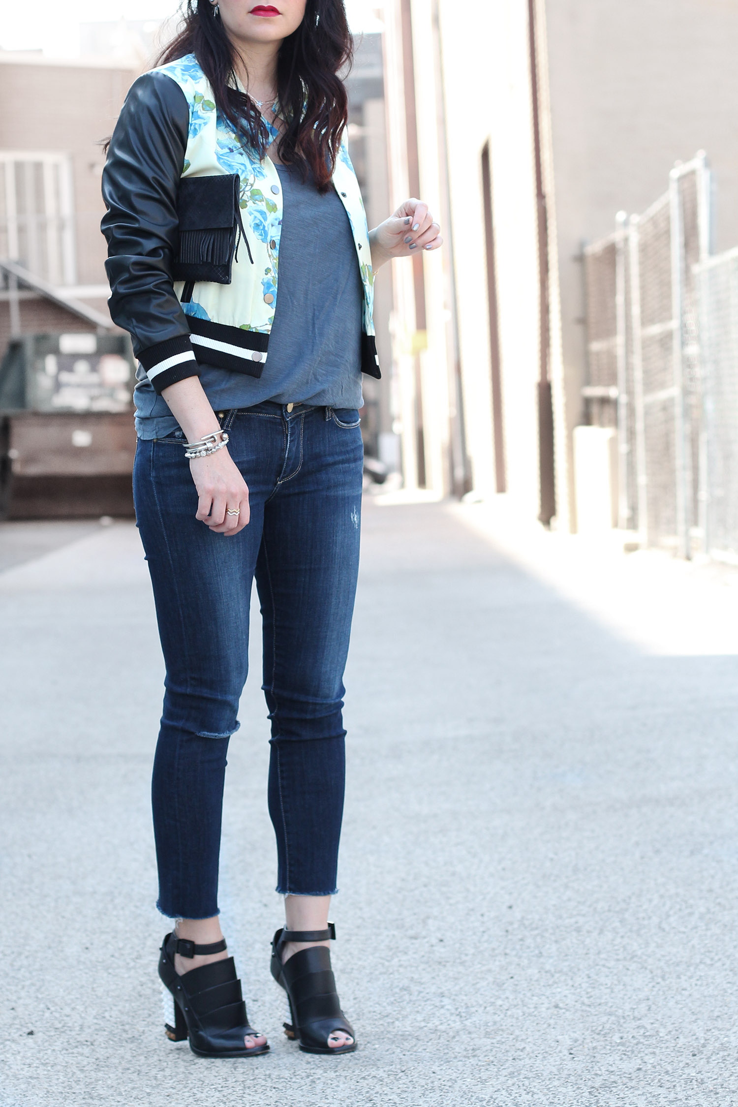 Spring Jean Outfit