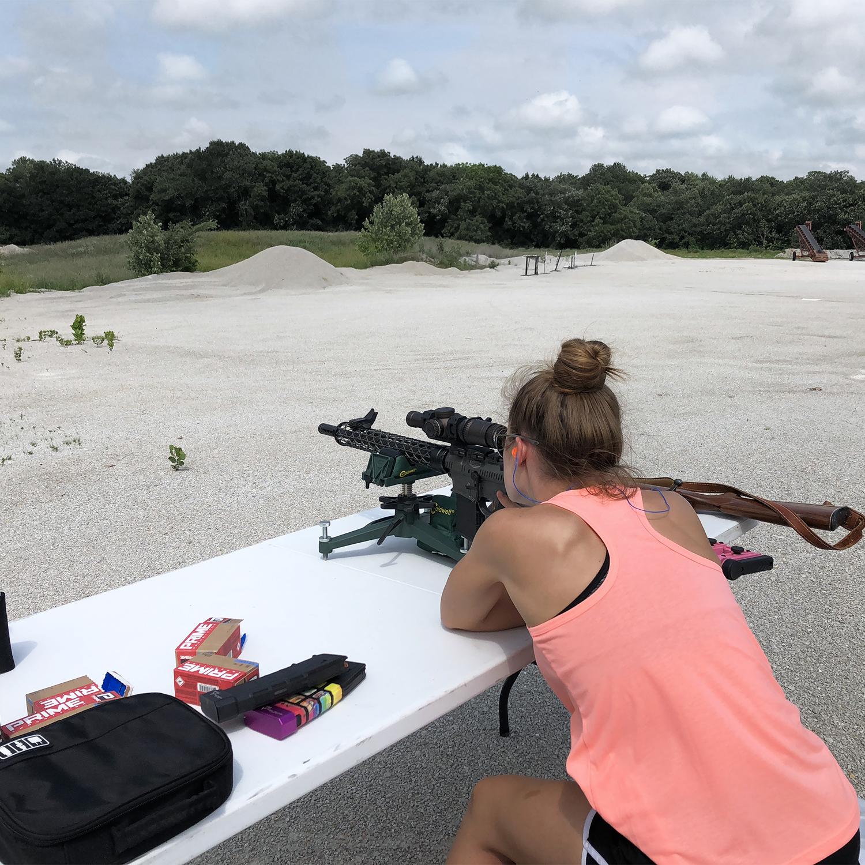 NRA Women, Long Range Shooting, Tannerite, Cheyenne Dalton, Love At First Shot