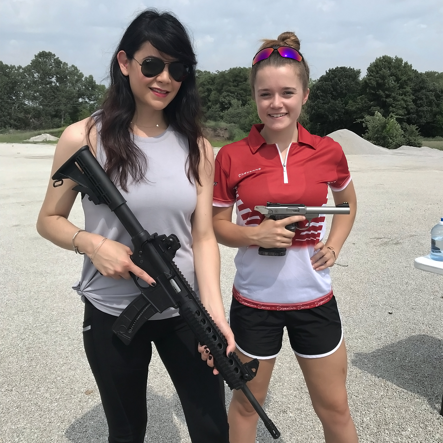 Cheyenne Dalton, Competitive Shooter, Love at First Shot